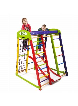 Домашний детский спортивный комплекс «АкварелькаПлюс-1»