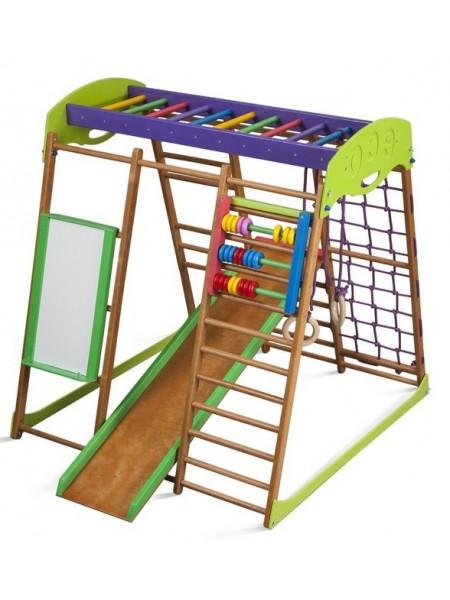 Детский игровой комплекс для квартиры Карамелька 130 см