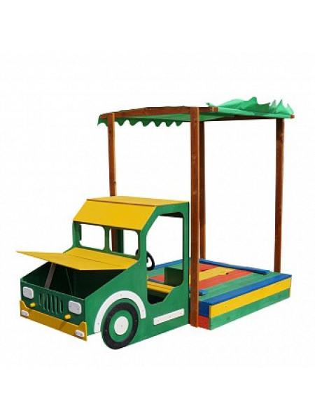Дитяча пісочниця дерев'яна Вантажівка