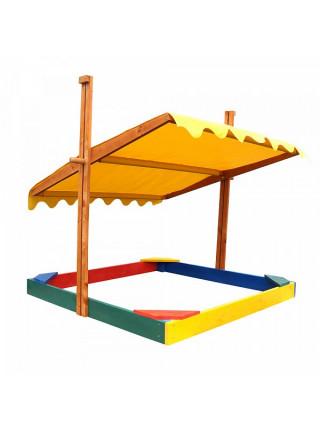 Пісочниця із дахом 2 в 1