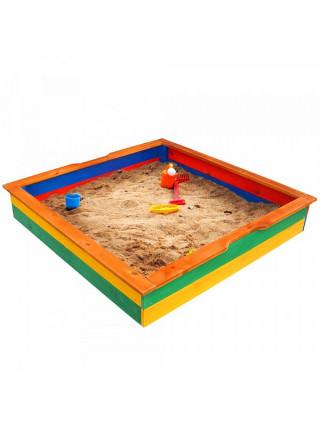 Песочница детская с бортиком