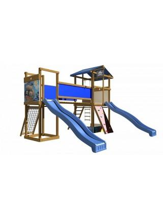 Игровая площадка с двумя горками SB-11