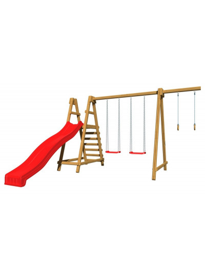 Дитячий дерев'яний майданчик SB-3