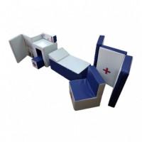 Игровые мягкие модули Поликлиника