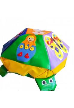 Мягкий дидактический модуль Черепаха