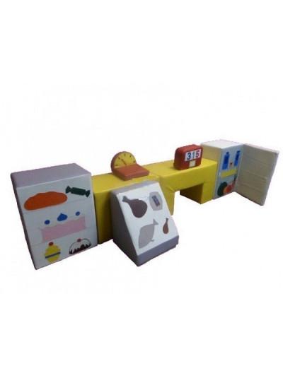 Игровые мягкие модули супермаркет