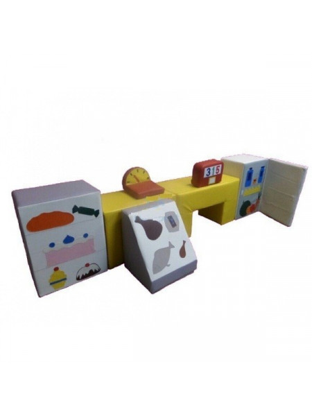 М'які ігрові модулі супермаркет