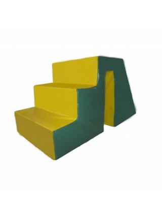 Мягкий модуль Горка со ступеньками