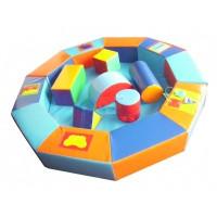 Сухий басейн-манеж дидактичний з модулями
