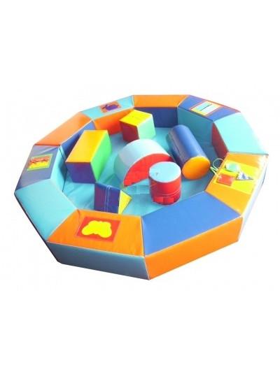 Сухой бассейн-манеж дидактический с модулями