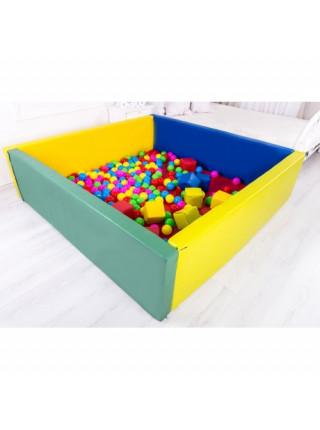 Сухий басейн з матом прямокутник