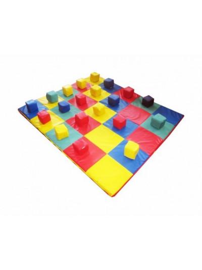 Коврик-мат с кубиками