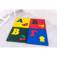 Дитячий килимок-мат складаний Буква
