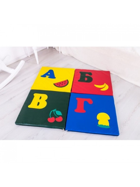 Детский коврик-мат складной Буква