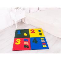 Дитячий килимок-мат складаний Арифметика