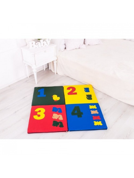 Детский коврик-мат складной Арифметика