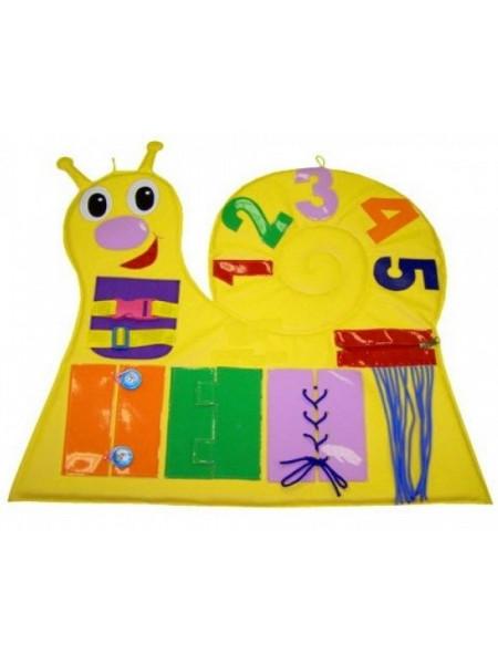 Дидактичний килимок Равлик