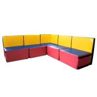 Дитячий диван з м'яких модулів Комфорт