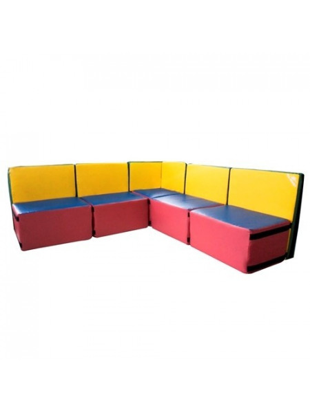 Детский диван из мягких модулей Комфорт