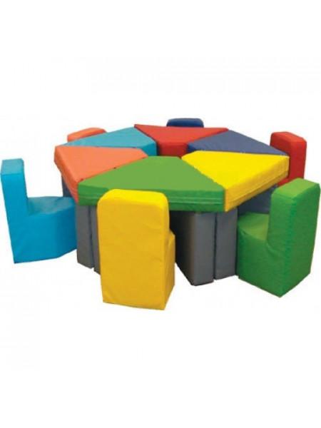 Комплект игровой мебели Цветик-разноцветик-2