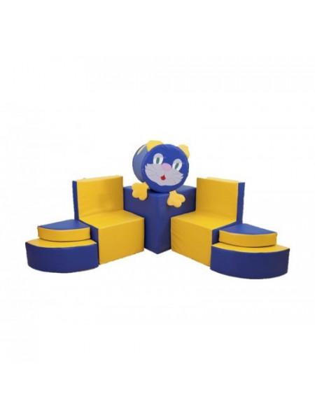 Комплект м'якої ігрової меблів Мурчик