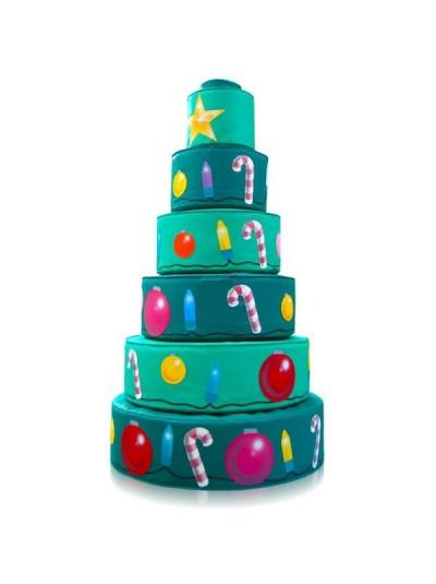 Игровая мебель Пирамида Новогодняя ёлка