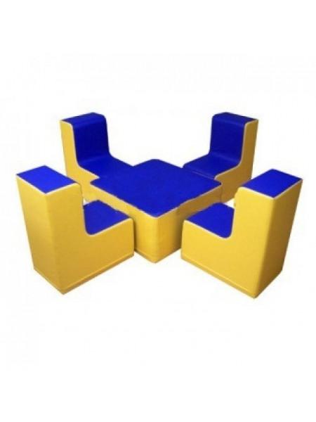 Комплект ігрових меблів Квартет