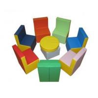 Комплект игровой мебели Радуга