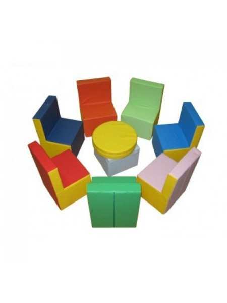 Комплект ігрових меблів Веселка