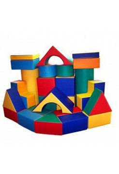 Конструктор мягкий игровой Крепость