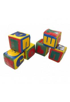 Мягкие модульные кубики АБВГдейка