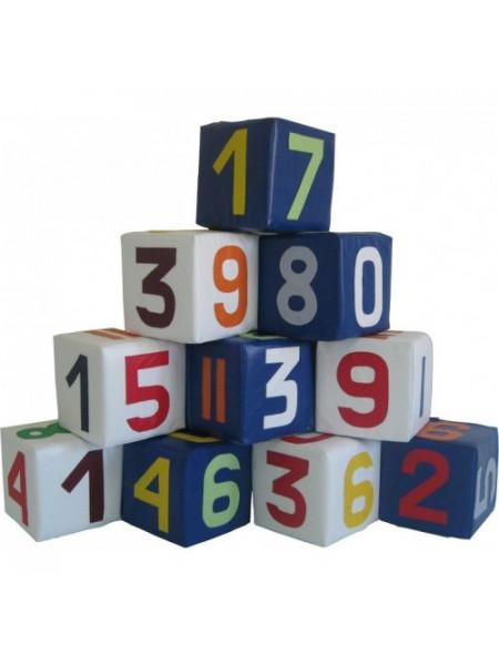 Набір м'яких кубиків Цифри