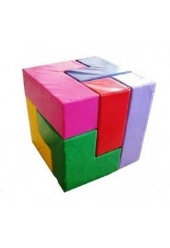 Мягкий кубик конструктор