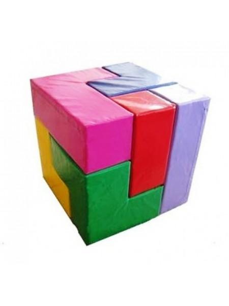 М'який кубик конструктор