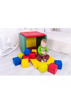 М'який модуль Будиночок з кубиками