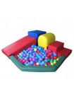 Модульные блоки № 7 с сухим бассейном