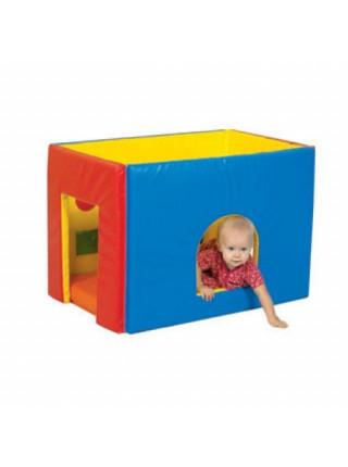 Домик для детей из мягких модулей