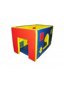 Будиночок для дітей з м'яких модулів міні