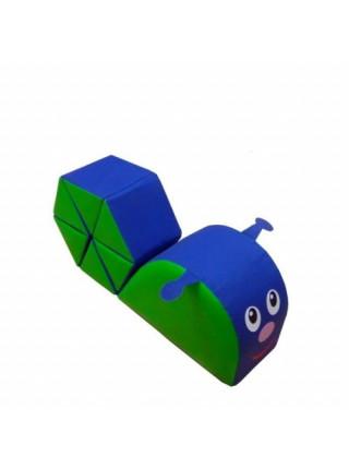 Конструктор-трансформер из мягких модулей Улитка