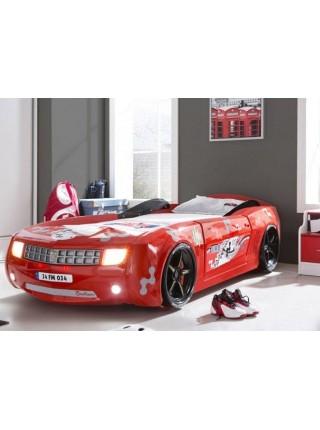 Ліжко-машина Camaro пластик червона