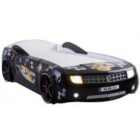 Кровать-машина Camaro пластик черная