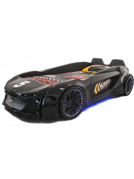 Дитяче ліжко машина Jaguar чорна