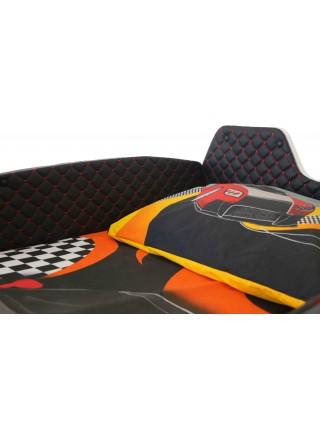 Детская кровать машина Jaguar чёрная