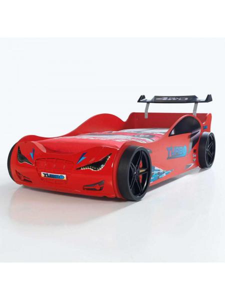Кровать-машинка Суперкар красная