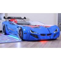 Кровать машинка BMW синяя