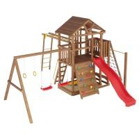 Ігровий майданчик з дерева вежа-10