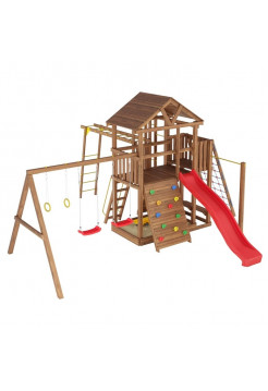Игровая площадка из дерева Башня-10