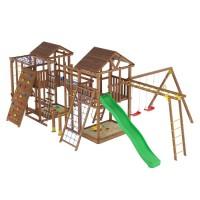 Ігровий майданчик з дерева вежа-14