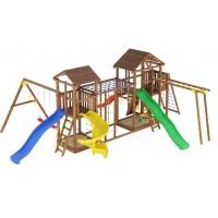 Ігровий майданчик з дерева вежа-16