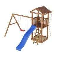 Ігровий майданчик з дерева Вежа-3